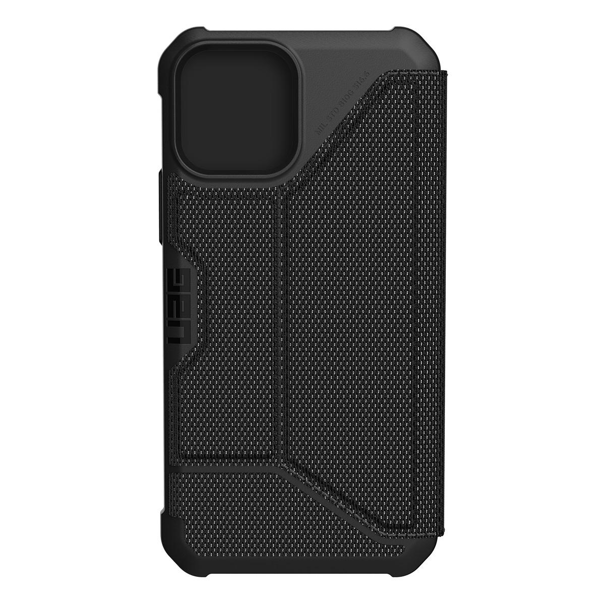 UAG Metropolis Kevlar plånboksfodral, iPhone 12/12 Pro, svart