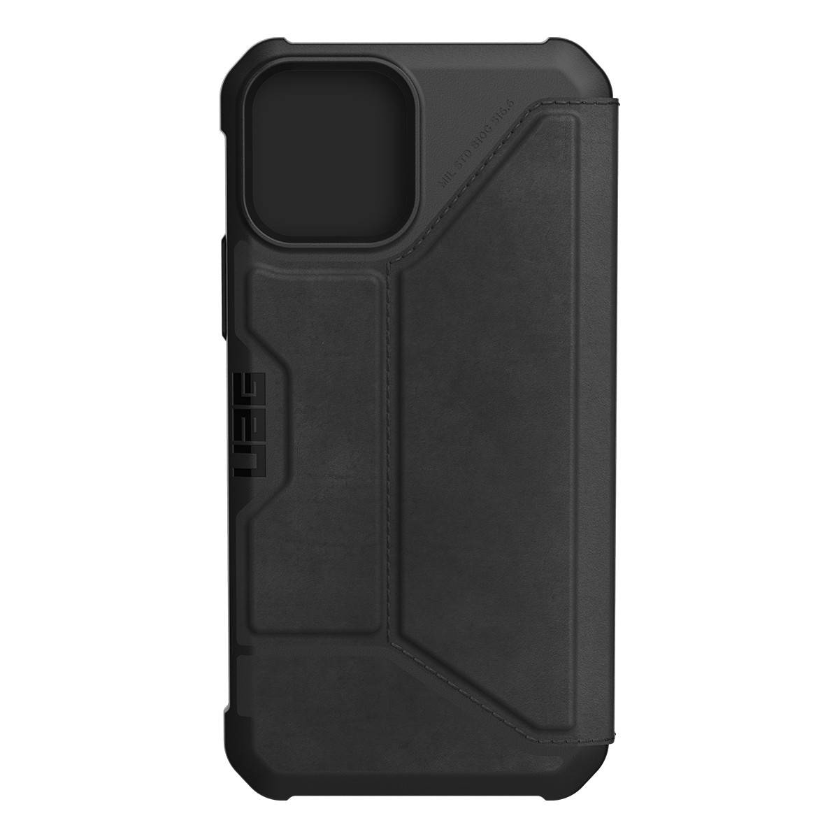 UAG Metropolis Wallet läderfodral, iPhone 12/12 Pro, svart