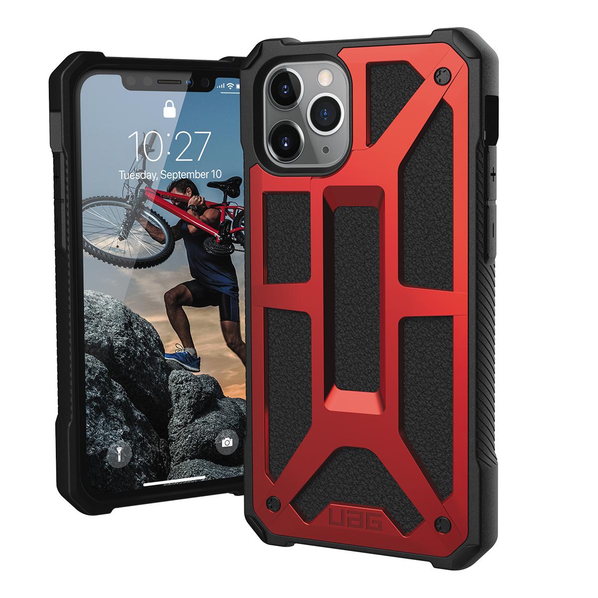 UAG iPhone 11 Pro, Monarch Cover, Crimson