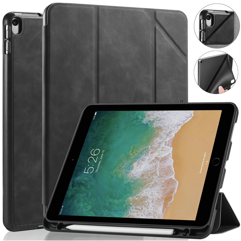 DG.MING Retro Style fodral till iPad Pro 10.5/iPad Air 3, svart