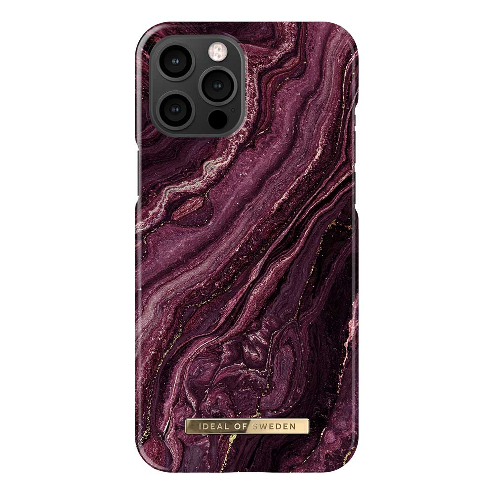 iDeal Fashion Case magnetskal, iPhone 12 Pro Max, Golden Plum