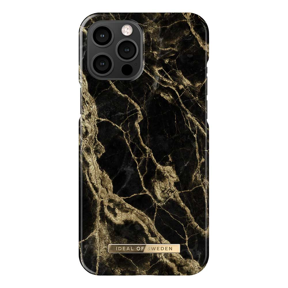 iDeal Fashion Case skal, iPhone 12 Pro Max, Golden Smoke Marble