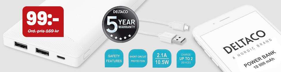 Deltaco Powerbank