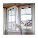 Universellt fönster-kit för portabel AC