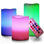 Färgglada LED-ljus med färgkontroll