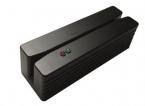 Kompakt magnetskortläsare med USB-gränssnitt, spår 1+2+3, svart