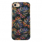 iDeal Fashion Case magnetskal iPhone 8/7/6, Neon Tropical