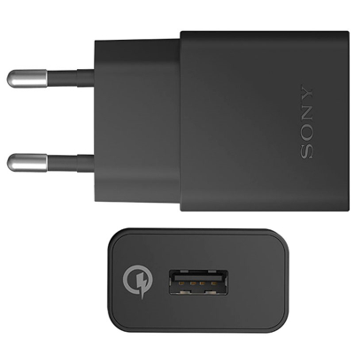 Sony original laddare QuickCharge UCH10, svart