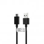 Sony original micro-USB kabel UCB11, 1m, svart