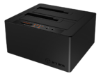 Icy Box Type-C 2 bay Dockning pch Klonstation med USB 3.1
