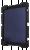 """Deltaco Skal i silikon för 9-11.6"""" surfplattor, stativ, svart"""