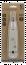 Deltaco Slitsverktyg för nätverkskabel, Krone LSA, trycksensor