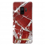 iDeal Fashion Case magnetskal Galaxy S9, Scarlet Red Marble 0