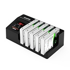 """5x3.5"""" och 2.5"""" Extern hårddiskdocka, USB3.1 Gen1, 5Gbps"""