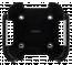Deltaco väggfäste för 4:e/5:e gen Apple TV, svart