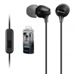 Sony original MDR-EX15AP In-ear hörlurar, svart