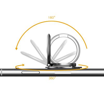 The Bat ‑ Ringhållare med ställ för mobil/surfplattor, svart