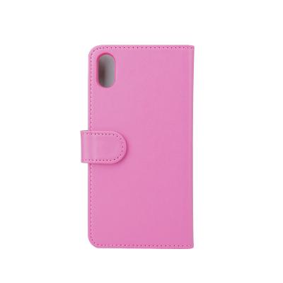 """Gear Plånboksfodral iPhone XS Max 6,5"""", rosa"""