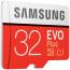 Samsung Evo Plus microSDHC Class 10 UHS‑I, 32GB