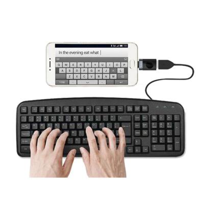 Mcdodo OT‑2150 kompakt MicroUSB till USB‑C adapter, guld