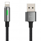 McDodo King Lightning-kabel, Auto Disconnect, 2.4A, 1.2m