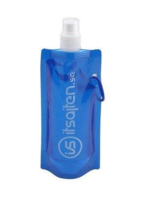 Vik‑ och frysbar vattenflaska, blå