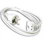 Extra lång strömsladd till MacBook-laddare, 1.5m