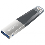 128GB SanDisk iXpand Mini OTG Lightning minnessticka