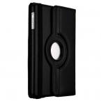 Läderfodral med roterbart ställ svart, iPad Mini/2/3