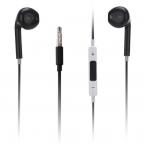 Earpods headset med fjärrkontroll, svart