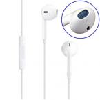 Earpods headset med fjärrkontroll, vit
