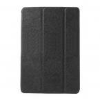 Smart cover läderfodral med ställ svart, iPad Mini/2/3