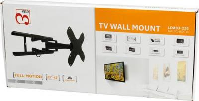 Epzi väggfäste för TV/skärm, max 25kg