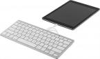 Deltaco tangentbord för iOS-enheter vit, lightning