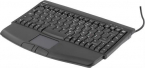 Deltaco minitangentbord med touchpad svart, USB