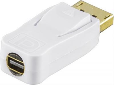 Deltaco adapter DisplayPort hane till Mini DisplayPort hona