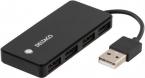 Deltaco USB2.0 hubb, 4-port