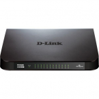 D-Link GO-SW-24G Gigabit Easy nätverksswitch, 24-port