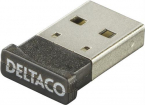 Deltaco Bluetooth 4.0 nano-adapter, 3Mbps