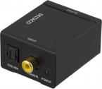 Deltaco Ljudomvandlare från digital till analog, 2xRCA