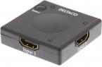 Deltaco Automatisk 3-1 HDMI-switch Mini, 3D-stöd, 1080p