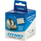 Dymo LabelWriter vita adressetiketter, 89x28 mm, 2x130 st