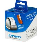 Dymo LabelWriter vita arkiveringsetiketter, 59x190 mm, 110 st