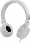 Streetz ihopvikbart headset med brusreducering, vit