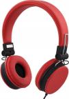 Streetz ihopvikbart headset med brusreducering, röd