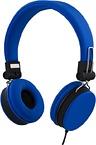 Streetz ihopvikbart headset med brusreducering, blå