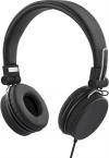 Streetz ihopvikbart headset med brusreducering, svart