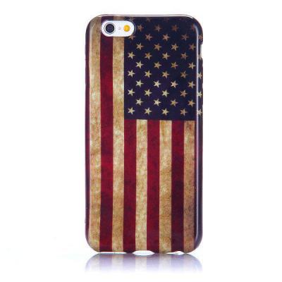 TPU‑skal amerikansk flagga, iPhone 6 Plus