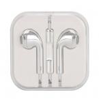 Earpods headset med fjärrkontroll, silver