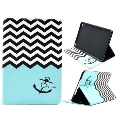Läderfodral med ställ ankare, iPad Mini 4